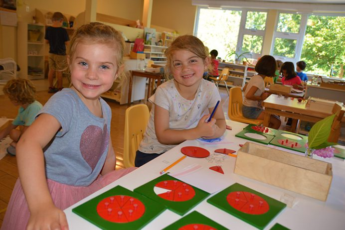 Montessori learning environment